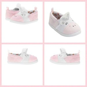 Garanimals Baby Girl's Canvas Unicorn Slip-On